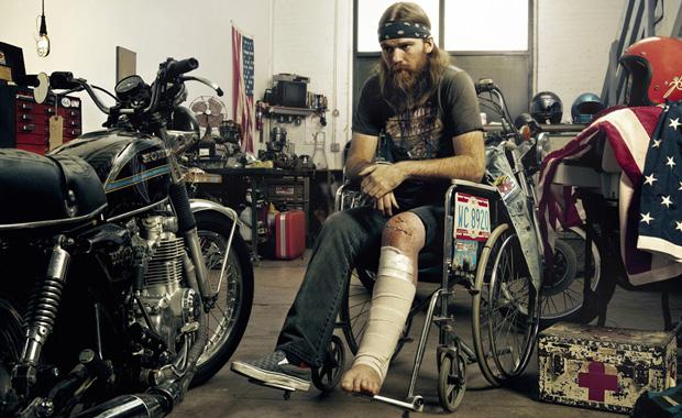 Matt in His Wheelchair